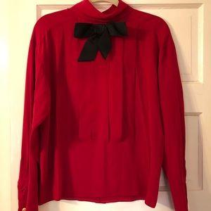 Vintage Chanel silk blouse